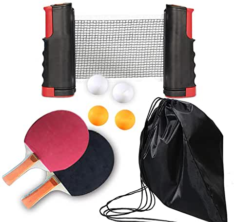ensemble de ping pong
